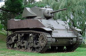 Stuart Light Tank, from Wikipedia